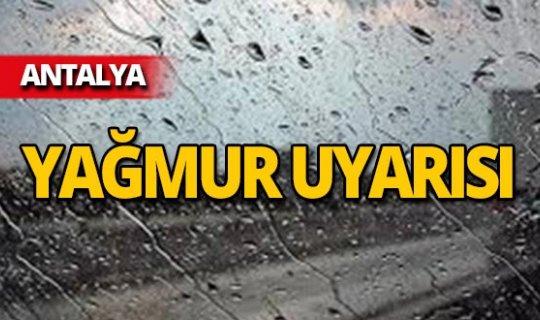 Bu ilçelerde yaşayanlar dikkat! Yağmur uyarısı
