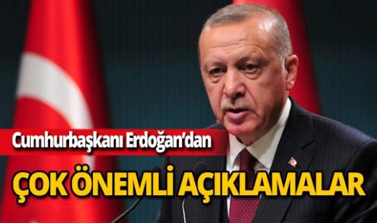 Cumhurbaşkanı Erdoğan'dan rektör atamalarıyla ilgili açıklama!