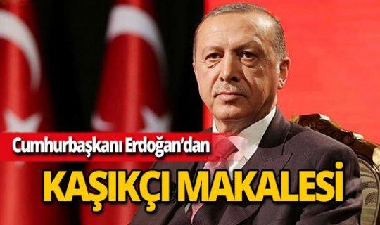 Cumhurbaşkanı Erdoğan Kaşıkçı cinayetini yazdı