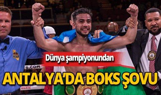 Dünya şampiyonu Antalya'da