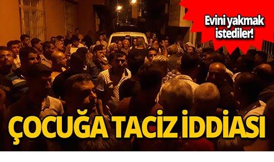'İdam istiyoruz' sloganıyla evi taşladılar