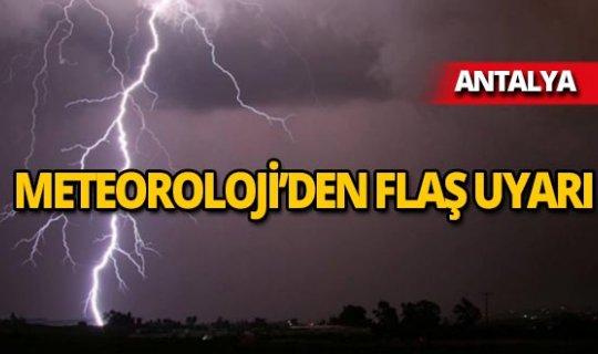 Meteoroloji uyardı: Gök gürültülü sağanak yağış geliyor!