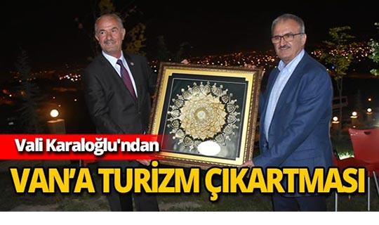 """Vali Karaloğlu: """"Turizm işbirliği Antalya ve Van'a çok şey katacak"""""""