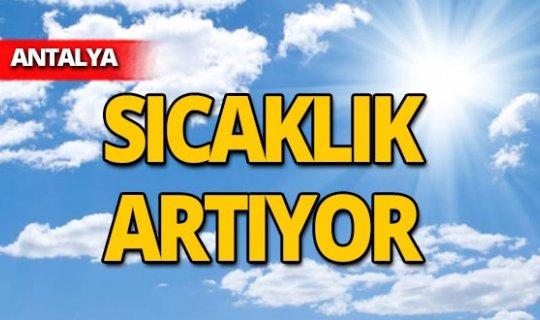 11 Ekim 2019 Antalya hava durumu