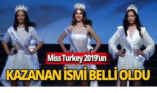 2019 Türkiye güzeli belli oldu