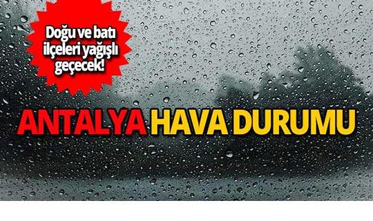 28 Ekim Antalya hava durumu