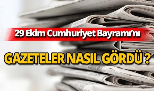 29 Ekim 2019 Antalya'nın yerel gazete manşetleri