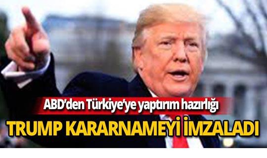 ABD Başkanı Trump Türkiye'yi hedef aldı