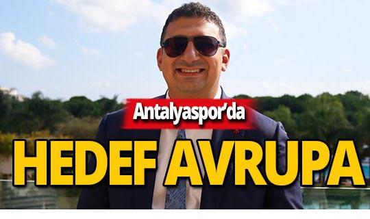 """Ali Şafak Öztürk:  """"Avrupa'ya gideceğiz"""""""