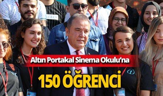 Altın Portakal'ın öğrencileri Antalya'ya geldi