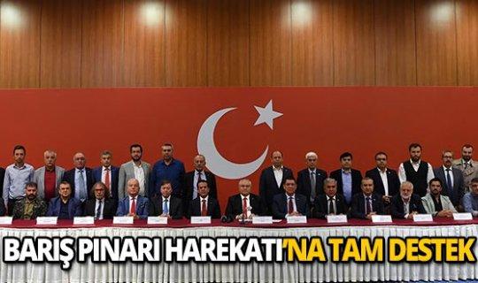 Antalya iş dünyasından Mehmetçiğe destek!