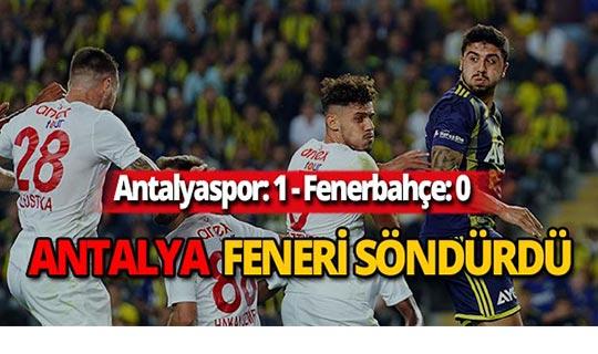 Antalya Kadıköy'den 1-0 galip çıktı