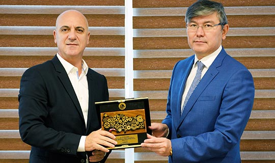 Antalya OSB – Kazakistan kardeşliği