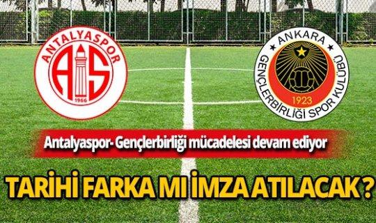 Antalyaspor-Gençlerbirliği maçında taraftar şokta!