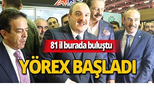 Bakan Varank'tan YÖREX'te pastırma ikramı!