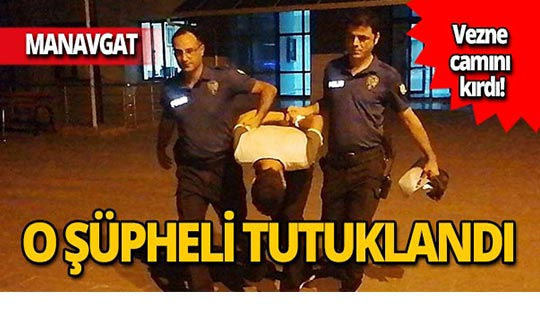 Bankada olay çıkaran şüpheli tutuklandı!