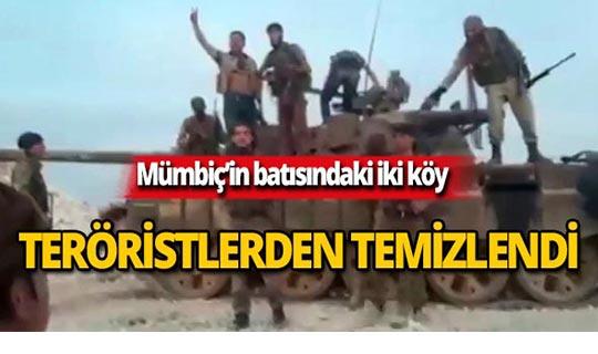 Barış Pınarı Harekatı'nda iki köy teröristlerden temizlendi