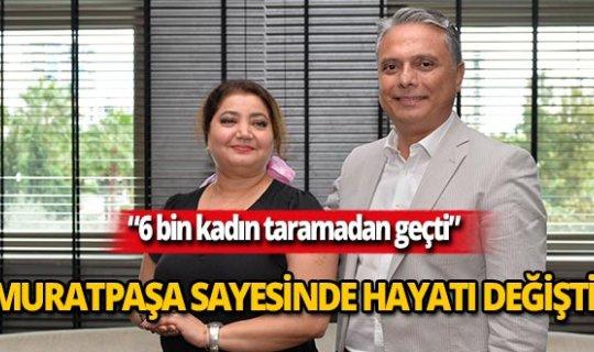 Başkan Uysal, Katayoun Sayyaf'la görüştü