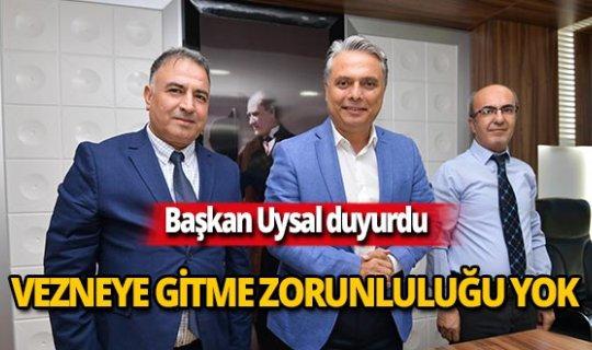 """Başkan Uysal: """"Ödemeler PTT şubelerinden yapılabilecek"""""""