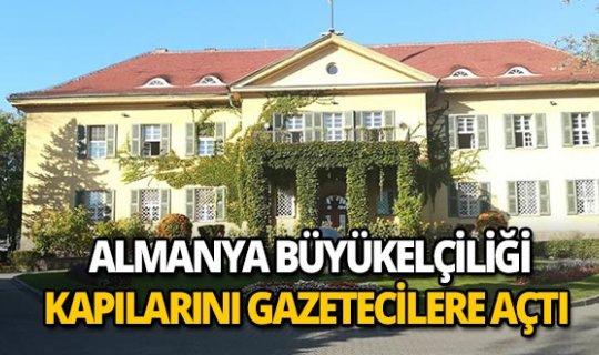 Büyükelçilik kapılarını ikinci kez gazetecilere açtı