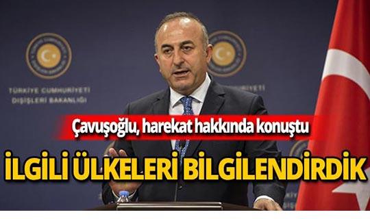 Çavuşoğlu: Hukuk kararlarınca icra ediliyor