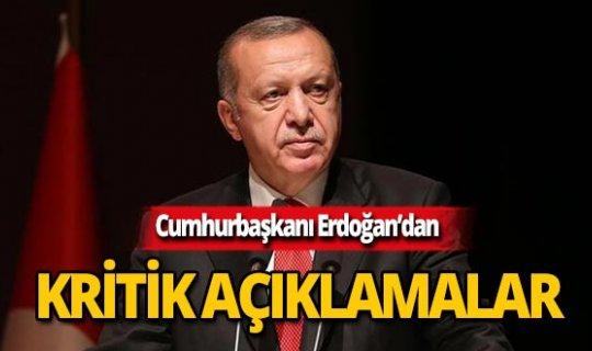 """Cumhurbaşkanı Erdoğan: """"109 terörist etkisiz hale getirildi"""""""