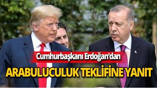 """Cumhurbaşkanı Erdoğan: """"Biz terör örgütü ile masaya oturmayız"""""""
