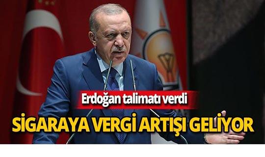 """Cumhurbaşkanı Erdoğan: """"Gerekirse vergileri üç kat artırın"""""""