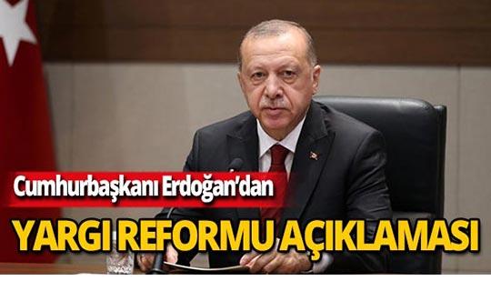 """Cumhurbaşkanı Erdoğan: """"İnfaz süresi yeniden belirlenecek"""""""