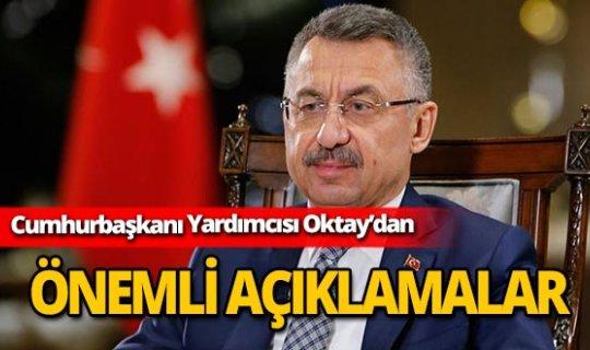 """Cumhurbaşkanı Yardımcısı Oktay: """"Dünya terör örgütüyle Kürtleri birbirinden ayırmalı"""""""