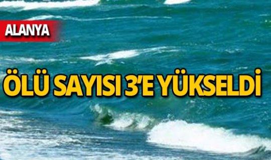 Deniz can aldı: Ölü sayısı 3'e yükseldi!