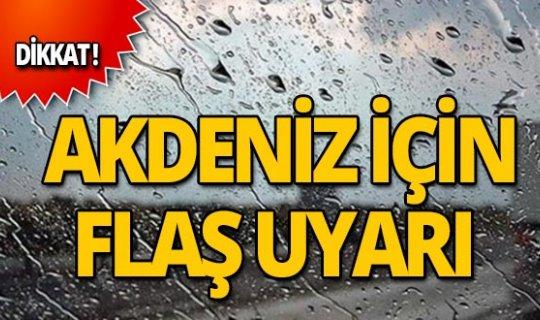 Dikkat! Meteoroloji'den haftasonu uyarısı