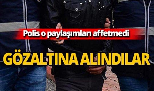 Emniyetten sosyal medya operasyonu: 4 gözaltı!