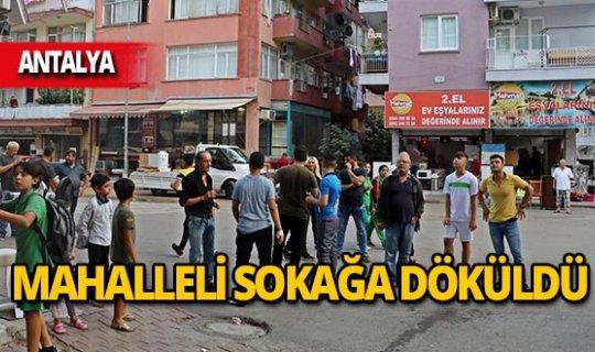 Gaz kokusu mahalleyi sardı, vatandaşlar sokağa döküldü!