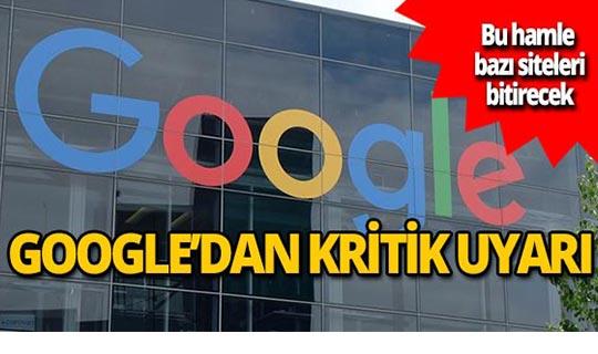 Google'dan flaş hamle!
