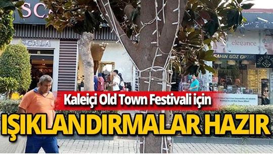 Muratpaşa'dan festival ışıklandırması