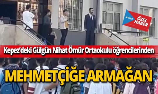 Öğrencilerden Mehmetçiğe armağan: Fetih Suresi