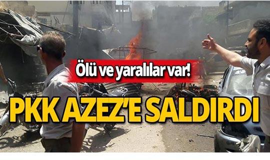PKK, füze ve toplarla saldırdı! Ölü ve yaralılar var