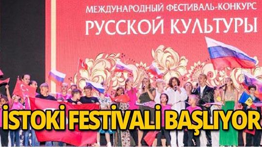 Rus-Türk kültürü festivalle buluşuyor