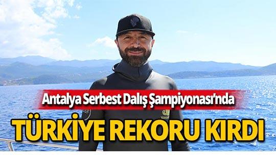 Rüstem Derin'den Türkiye rekoru