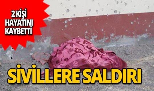 Sivillere yönelik terör saldırısında 2 kişi şehit oldu