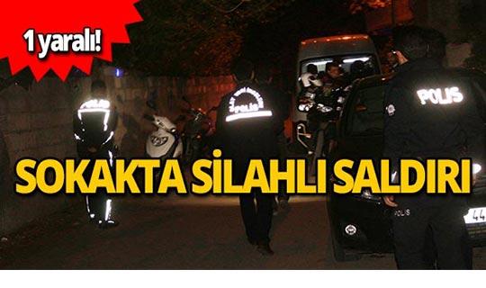 Sokak ortasında silahlı saldırı!