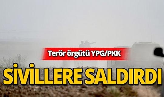 Terör örgütü YPG/PKK sivilleri katlediyor