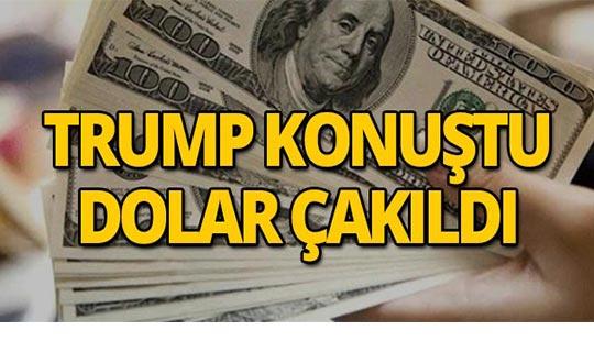 Trump'ın yaptırım açıklamasının ardından dolar düştü