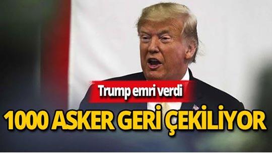 Trump'tan Olay Talimat
