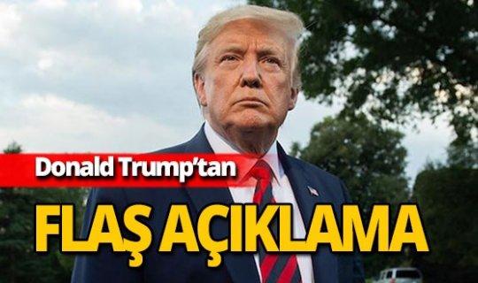 Trump'tan yeni Barış Pınarı Harekatı açıklaması