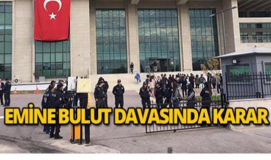 Türkiye'yi ayağa kaldıran cinayette karar belli oldu