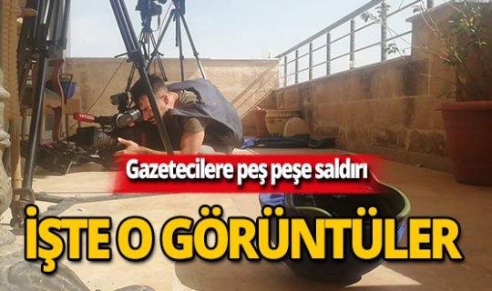YPG'den gazetecilerin bulunduğu alana saldırı