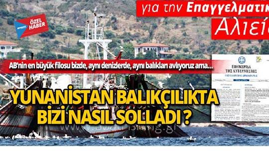 Yunanistan balıkçılıkta bizi nasıl solladı?