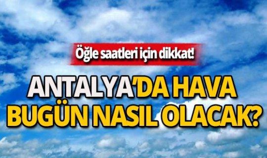 21 Kasım Antalya hava durumu